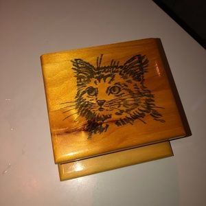 Handcrafted Cat Keep-safe Box